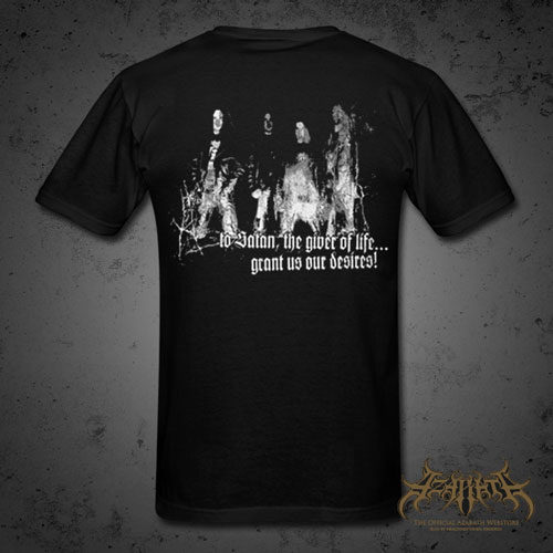 Azarath - Praise the Beast t-shirt back